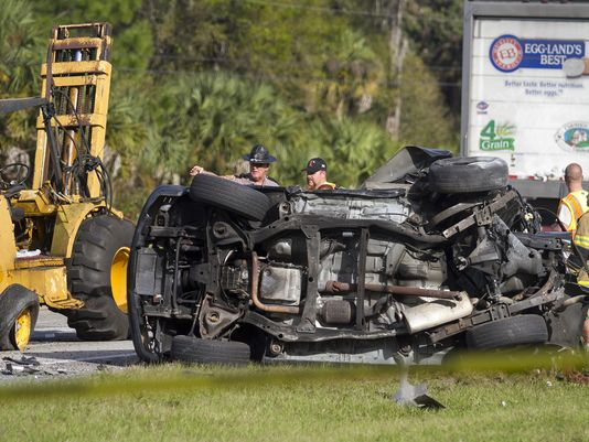 Teen killed helping move forklift; motorcyclist killed in hit-and-run crash