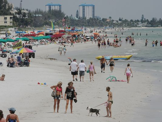 Record number of visitors coming to Florida